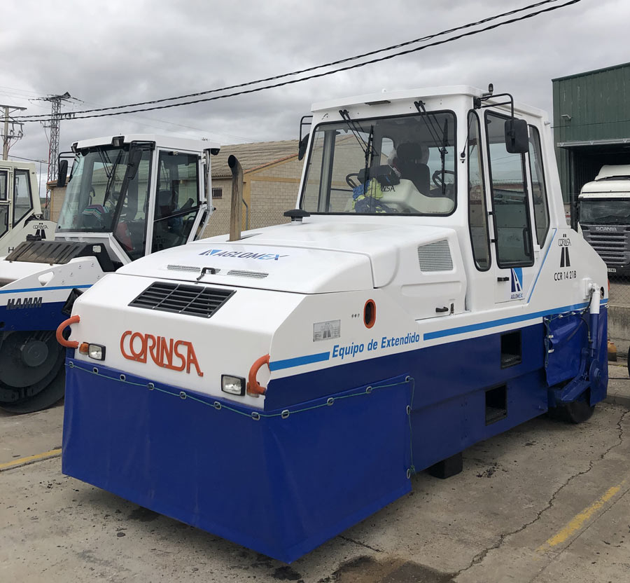 RODILLO CORINSA 1421 CB (Compactador de neumáticos)